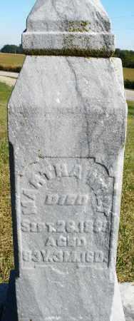 WILT, MARTHA - Darke County, Ohio | MARTHA WILT - Ohio Gravestone Photos