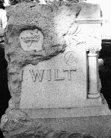 WILT, MONUMENT - Darke County, Ohio | MONUMENT WILT - Ohio Gravestone Photos