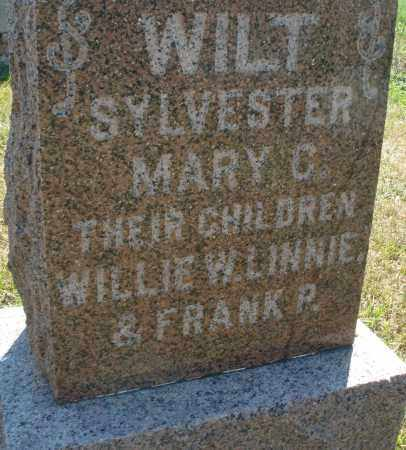 WILT, WILLIE W. - Darke County, Ohio | WILLIE W. WILT - Ohio Gravestone Photos