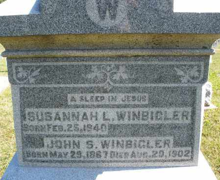 WINBIGLER, JOHN S. - Darke County, Ohio | JOHN S. WINBIGLER - Ohio Gravestone Photos