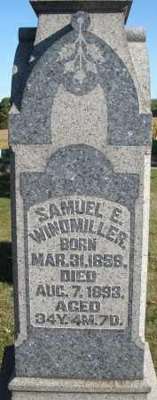 WINDMILLER, SAMUEL E. - Darke County, Ohio | SAMUEL E. WINDMILLER - Ohio Gravestone Photos
