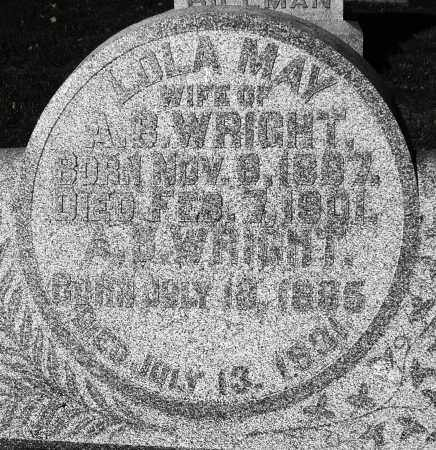 WRIGHT, LOLA MAY - Darke County, Ohio | LOLA MAY WRIGHT - Ohio Gravestone Photos