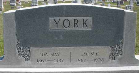 YORK, JOHN C. - Darke County, Ohio | JOHN C. YORK - Ohio Gravestone Photos