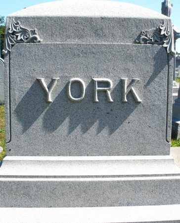 YORK, MONUMENT - Darke County, Ohio | MONUMENT YORK - Ohio Gravestone Photos