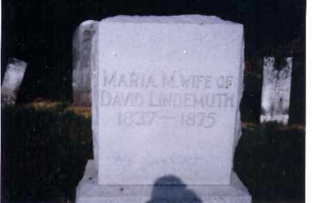 LINDERMUTH, MARIA - Darke County, Ohio | MARIA LINDERMUTH - Ohio Gravestone Photos
