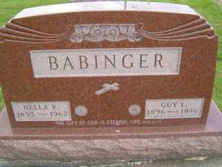 BABINGER, GUY L - Defiance County, Ohio | GUY L BABINGER - Ohio Gravestone Photos