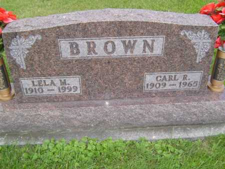 BROWN, CARL R - Defiance County, Ohio | CARL R BROWN - Ohio Gravestone Photos
