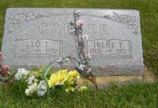 CARYER, IRENE T - Defiance County, Ohio | IRENE T CARYER - Ohio Gravestone Photos