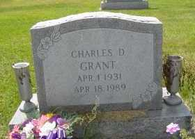 GRANT, CHARLES D - Defiance County, Ohio | CHARLES D GRANT - Ohio Gravestone Photos