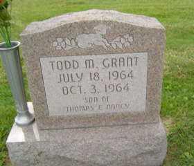 GRANT, TODD  M - Defiance County, Ohio | TODD  M GRANT - Ohio Gravestone Photos