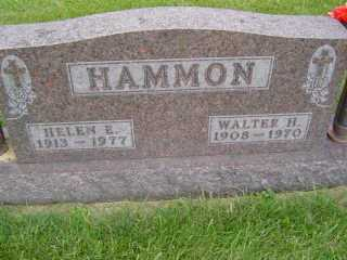 HAMMON, WALTER  H - Defiance County, Ohio | WALTER  H HAMMON - Ohio Gravestone Photos