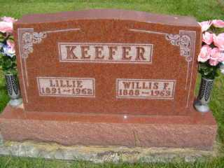 KEEFER, LILLIE - Defiance County, Ohio | LILLIE KEEFER - Ohio Gravestone Photos