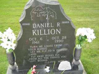 KILLION, DANIEL R - Defiance County, Ohio | DANIEL R KILLION - Ohio Gravestone Photos