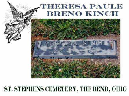 KINCH, THERESIA - Defiance County, Ohio | THERESIA KINCH - Ohio Gravestone Photos