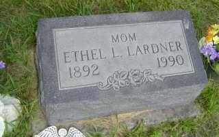 LARDNER, ETHEL L - Defiance County, Ohio | ETHEL L LARDNER - Ohio Gravestone Photos