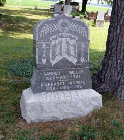 MILLER, BARNET - Defiance County, Ohio | BARNET MILLER - Ohio Gravestone Photos