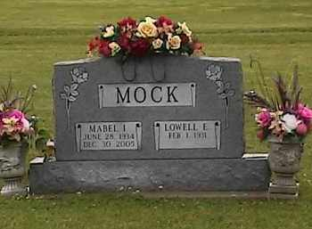 MOCK, MABEL I. - Defiance County, Ohio | MABEL I. MOCK - Ohio Gravestone Photos