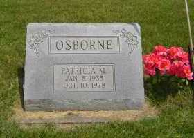 OSBORNE, PATRICIA M - Defiance County, Ohio | PATRICIA M OSBORNE - Ohio Gravestone Photos