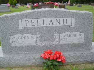 PELLAND, RAYMOND W - Defiance County, Ohio | RAYMOND W PELLAND - Ohio Gravestone Photos