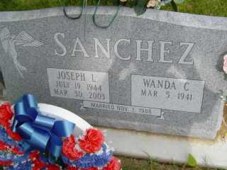SANCHEZ, JOSEPH L - Defiance County, Ohio | JOSEPH L SANCHEZ - Ohio Gravestone Photos