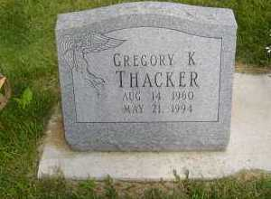 THACKER, GREGORY K - Defiance County, Ohio | GREGORY K THACKER - Ohio Gravestone Photos