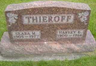 THIEROFF, CLARA M - Defiance County, Ohio | CLARA M THIEROFF - Ohio Gravestone Photos