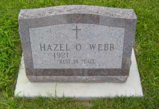 WEBB, HAZEL  O - Defiance County, Ohio | HAZEL  O WEBB - Ohio Gravestone Photos