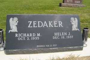 ZEDAKER, RICHARD M - Defiance County, Ohio | RICHARD M ZEDAKER - Ohio Gravestone Photos