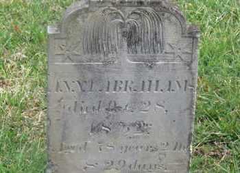 ABRAHAMS, ANNA - Delaware County, Ohio | ANNA ABRAHAMS - Ohio Gravestone Photos