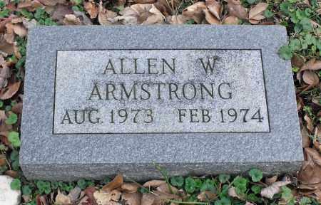 ARMSTRONG, ALLEN W. - Delaware County, Ohio | ALLEN W. ARMSTRONG - Ohio Gravestone Photos