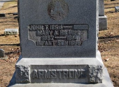 ARMSTRONG, INFANT SON - Delaware County, Ohio | INFANT SON ARMSTRONG - Ohio Gravestone Photos