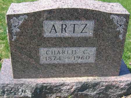 ARTZ, CHARLES C. - Delaware County, Ohio | CHARLES C. ARTZ - Ohio Gravestone Photos