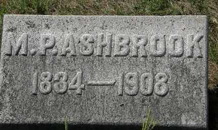 ASHBROOK, M. P. - Delaware County, Ohio | M. P. ASHBROOK - Ohio Gravestone Photos