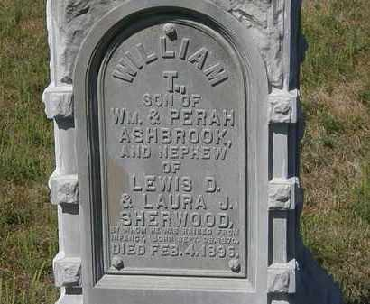 ASHBROOK, PERAH - Delaware County, Ohio | PERAH ASHBROOK - Ohio Gravestone Photos