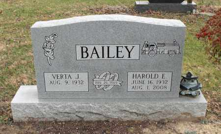 BAILEY, HAROLD E. - Delaware County, Ohio | HAROLD E. BAILEY - Ohio Gravestone Photos