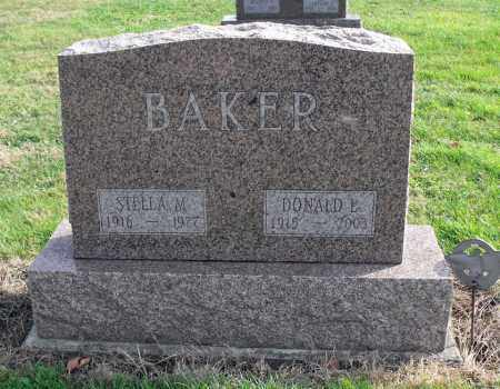 BAKER, DONALD - Delaware County, Ohio | DONALD BAKER - Ohio Gravestone Photos