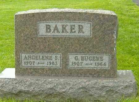 BAKER, G. EUGENE - Delaware County, Ohio | G. EUGENE BAKER - Ohio Gravestone Photos