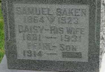 BAKER, DAISY - Delaware County, Ohio | DAISY BAKER - Ohio Gravestone Photos