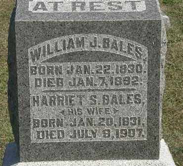 BALES, HARRIET S. - Delaware County, Ohio | HARRIET S. BALES - Ohio Gravestone Photos