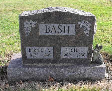 BASH, BERNICE AMELIA - Delaware County, Ohio | BERNICE AMELIA BASH - Ohio Gravestone Photos