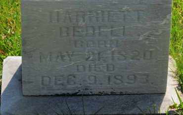 BEDELL, HARRIETT - Delaware County, Ohio | HARRIETT BEDELL - Ohio Gravestone Photos