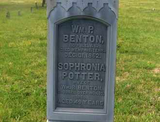 BENTON, WM. P. - Delaware County, Ohio | WM. P. BENTON - Ohio Gravestone Photos