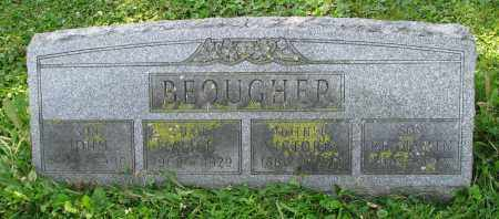 BEOUGHER, BENJAMIN - Delaware County, Ohio | BENJAMIN BEOUGHER - Ohio Gravestone Photos