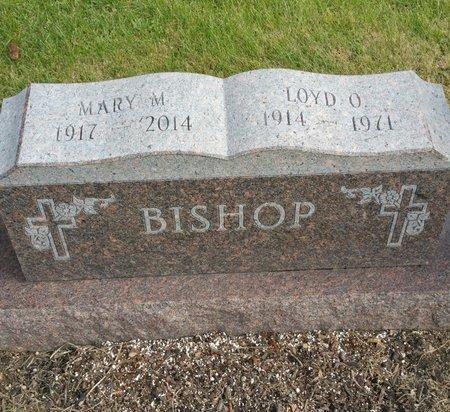 BISHOP, MARY M - Delaware County, Ohio   MARY M BISHOP - Ohio Gravestone Photos