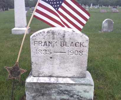 BLACK, FRANK - Delaware County, Ohio | FRANK BLACK - Ohio Gravestone Photos