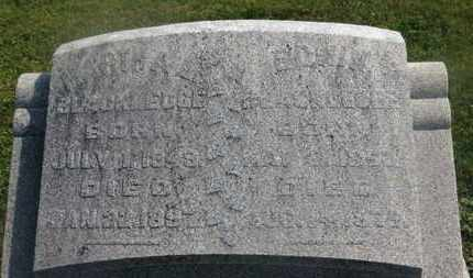 BLACKLEDGE, MARTHA A. - Delaware County, Ohio | MARTHA A. BLACKLEDGE - Ohio Gravestone Photos