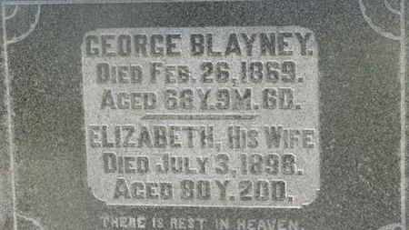 BLAYNEY, GEORGE - Delaware County, Ohio | GEORGE BLAYNEY - Ohio Gravestone Photos