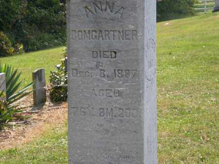 BOMGARTNER, ANNA - Delaware County, Ohio | ANNA BOMGARTNER - Ohio Gravestone Photos