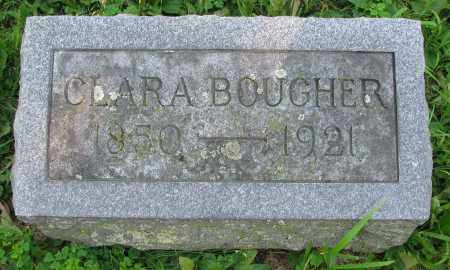 BOUGHER, CLARA - Delaware County, Ohio | CLARA BOUGHER - Ohio Gravestone Photos