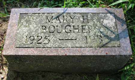 BOUGHER, MARY H. - Delaware County, Ohio | MARY H. BOUGHER - Ohio Gravestone Photos